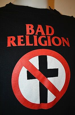 Bad Religion 2014 North USA Tour Punk Rock Band Pennywise Offspring XL T-Shirt