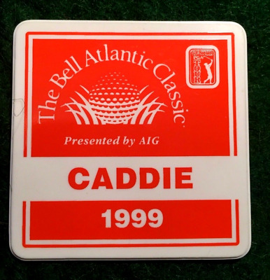 Caddy Badge Golf Memorabilia Scarce