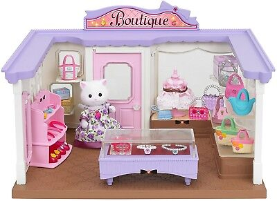 Sylvanian Families Boutique Set Sylvanian Shop Toy Kids Xmas Gift Age 4+