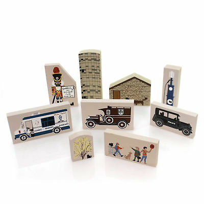 Cats Meow Village 1992 ACCESSORY SET/9 Accessory Retired 1992 1997 1992 Set/9