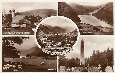 Postcard - Glendalough - 5 Views