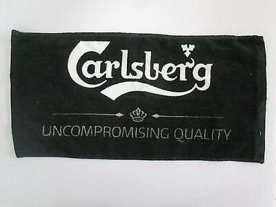 Carlsberg  Beer:  An  Advertising  Bar Towel.  Or334