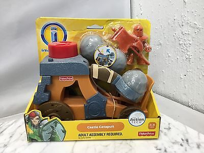 New in Package Fisher Price Imaginext Castle Catapult W9552