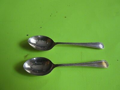 Two Vintage Wembley Exhibition Spoons