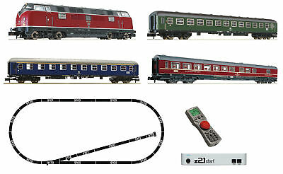 Fleischmann 931781 N z21® Digital Starter Set: Diesel Locomotive Series 212