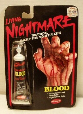 VINTAGE- Fun World Living Nightmare Theatrical Blood