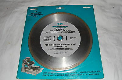 "Planet Diamond Tools 10"" Premium Diamond Wet-Cutting Tile Blade"