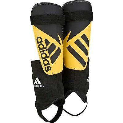 adidas Ghost Club Boy's Shin Pads With Ankle Guard Football Hockey Rugby Junior