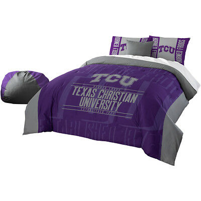 Northwest Company Tcu Horned Frogs Full/queen Comforter & Shams Set