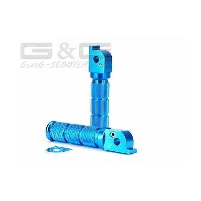 Pegs in Blue for Piaggio TPH / NRG (2 pcs)