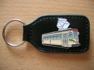 Keyring Tram Tec Belgium Art. 6167 Locomotive Railway Train