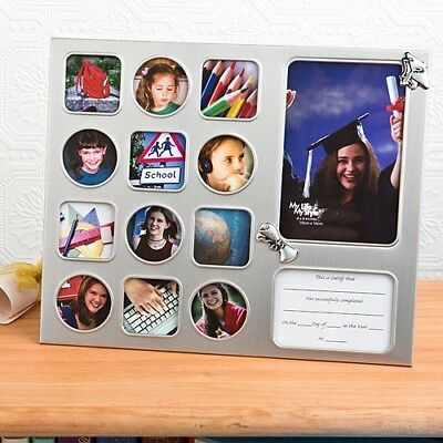 12 School Days Collage Frame Gift Favors