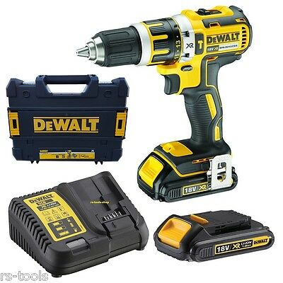 dewalt dcd796d2 18v 2x2 0ah li ion xr brushless combi drill kit picclick fr. Black Bedroom Furniture Sets. Home Design Ideas