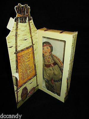 Maiden Cloth Doll Hallmark Ornament 1979 Famous Americans Series Vintage