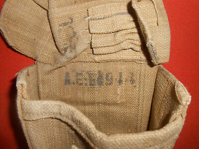G.BRITAIN ARMY : IDIAN ARMY  -1944 WWII  Ammo Pouch WWII ,.