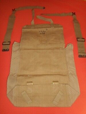 G.britain Army : 1944 Wwii - Big Backpack Haversack & 2 L Straps ,wwii Militaria