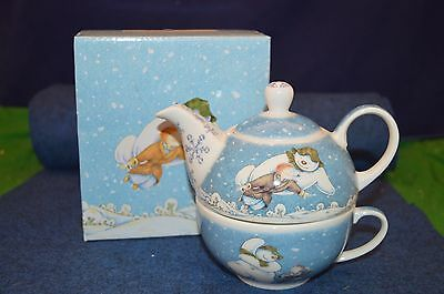 Lovely Cardew Design John Beswick ''The Snowman Tea For One'' Boxed USC RD6327