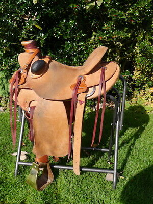 Ranch Roper Western Saddle