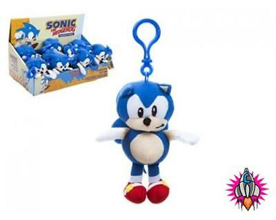 Sega Sonic The Hedgehog Clip On Plush Soft Toy Keyring New