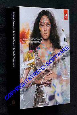 Adobe Creative Suite 6 Design &Web Premium Windows deutsch Box neu-incl.MwSt CS6