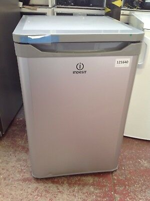 *Indesit TLAA10S Freestanding Fridge - Silver #121640