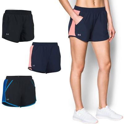 Under Armour Womens Fly By Running Shorts | Breathable Lightweight Gym Training