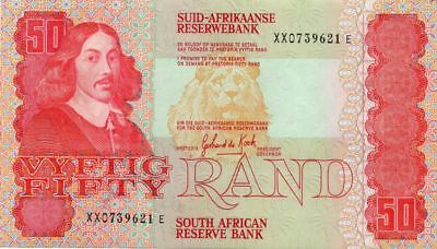 Südafrika/South Africa 50 Rand, Ersatznote, replacement P122ar, XX , EF/aUNC