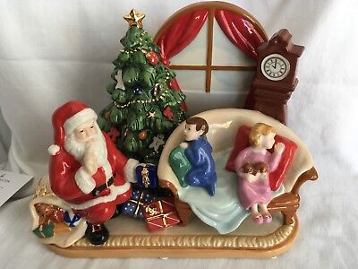 Waiting for Santa by Royal Doulton, Holiday Traditions Collection HN5388