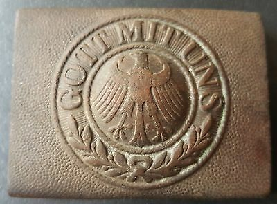 ✚7532✚ German Post Ww1 Reichswehr Belt Buckle Enlisted Men Non Comissioned Off