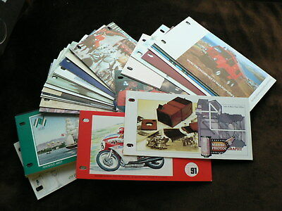 Isle of Man Presentation Packs, Various Sold Individually, Mint, 1987 - 1991