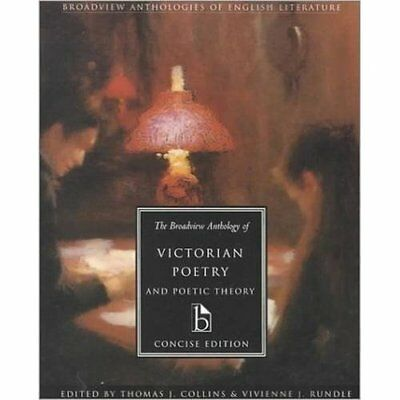 The Broadview Anthology of Victorian Poetry and Poetic  - Paperback NEW Collins,