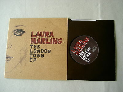 """LAURA MARLING The London Town EP debut 7"""" vinyl single"""