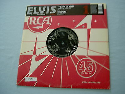 "ELVIS PRESLEY It's Now Or Never 2005 EU numbered 10"" vinyl single"