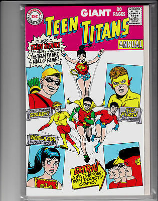 Teen Titans Annual Giant-Size 80 Pages Replica Edition Speedy Kid Flash