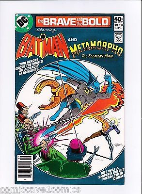 Brave and the Bold #154 Fine-(5.5) Batman and Metamorpho