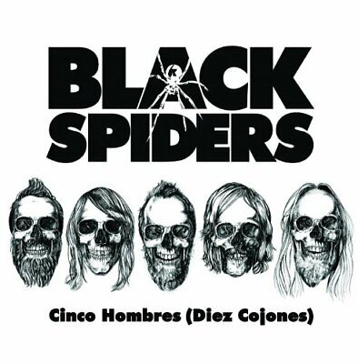 Black Spiders - Cinco Hombres - Black Spiders CD ISVG The Cheap Fast Free Post
