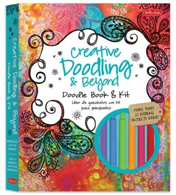 Creative Doodling & Beyond Doodle Book & Kit (Paperback), Stephan...