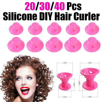 20/40 Silicone DIY Hair Curler Magic Hair Care Roller Hair Styling Curling Tool