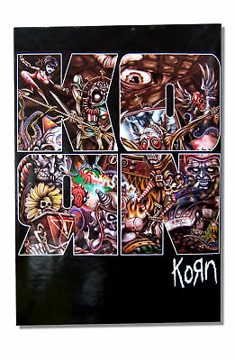 Korn - Kaos Illustration Big Letter Wall Poster - New Official