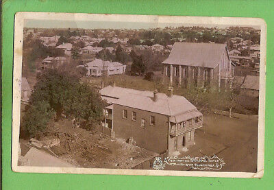 #e.   Australian   1910  Postcard - View From Town Hall, Toowoomba
