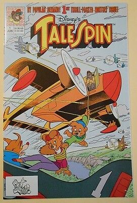 """1991 Disney Comics """"Tale Spin""""   1st Issue"""