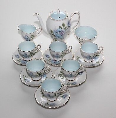 Royal Standard China, Fascination, Coffee Set Including Coffee Pot.