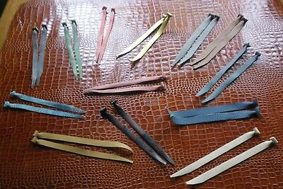 13 Various Leather Jesses