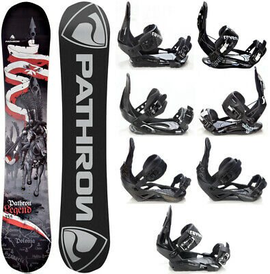 Snowboard Pathron Legend 2018 + Raven Bindungen M, M/L, L oder XL - Neu!