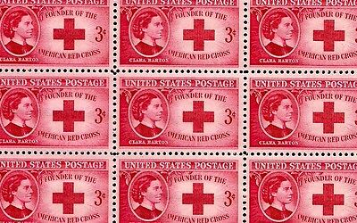 1948 - CLARA BARTON (RED CROSS) - #967 Mint -MNH- Sheet of 50 Postage Stamps
