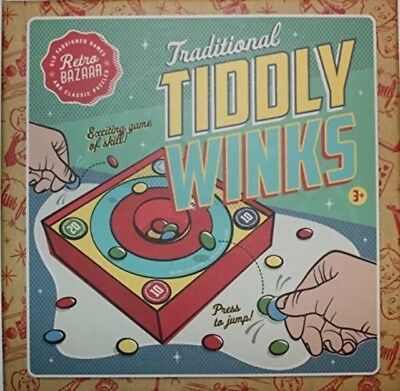 Retro Bazaar Traditional TiddlyWinks Game Tiddly Winks Fun Family Game New