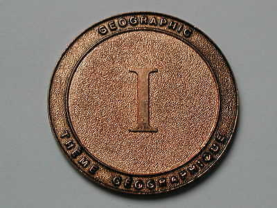 Geographic I Theme Geographique - Medal/Token/Coin - unknown & scarce - uniface