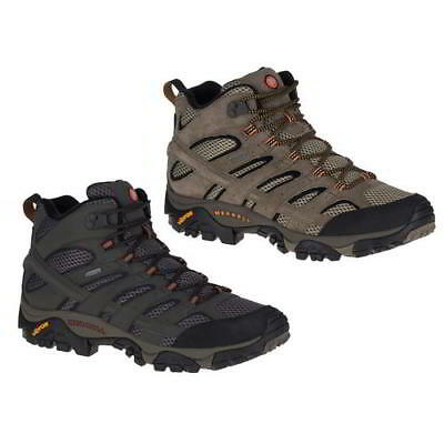 Merrell Moab 2 Mid GTX Gore-Tex Waterproof Mens Walking Boots Size 7-13