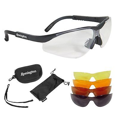Radians Remington 5 Lens Interchangeable Safety Glasses Kit