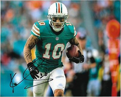 """KENNY STILLS AUTOGRAPH NFL MIAMI DOLPHINS HAND SIGNED """"10x8"""" PHOTO - SEE PROOF"""